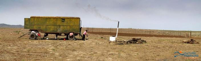 Nomadic pastoralists central Kazakhstan