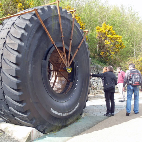 'From the Earth' mining exhibit at Eden Project UK