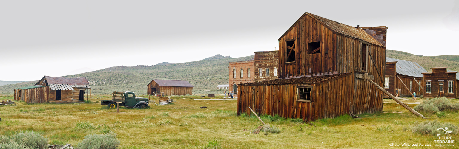 Gold mining ghost town of Bodie, California, USA