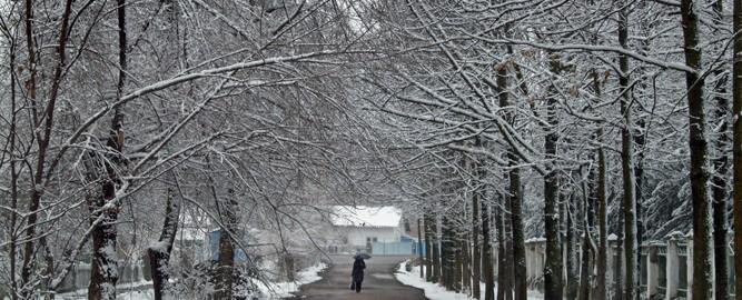Post-mining town of Orlovka, Kyrgyzstan