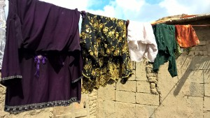 Qambar_washing_line